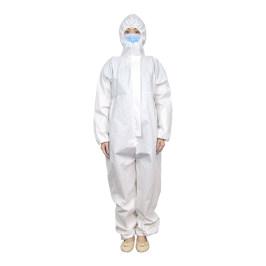 一次性医用隔离衣连体式带帽隔离服医院全身防疫工作服医疗防护服